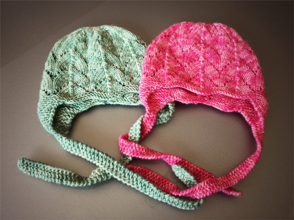 Baby bonnet - Easy to knit
