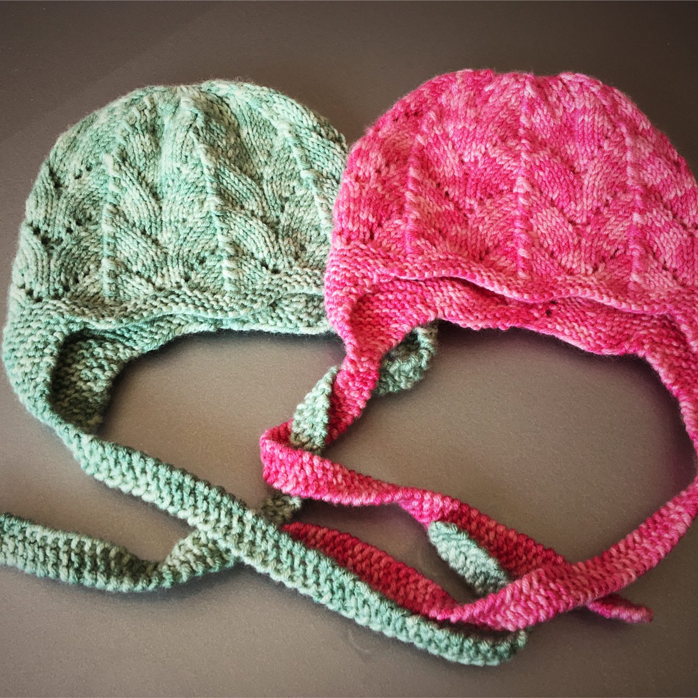 Baby bonnet knitting pattern – Easy to do!