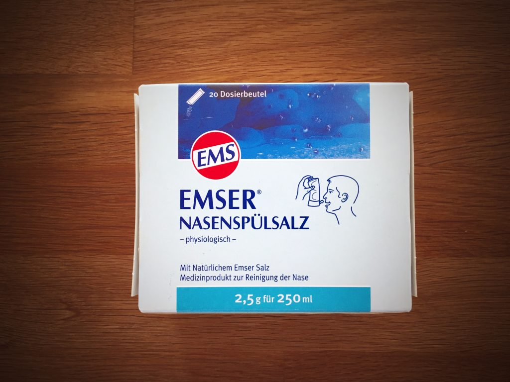 Emser nasal wash - The perfect thing to combat cold during pregnancy