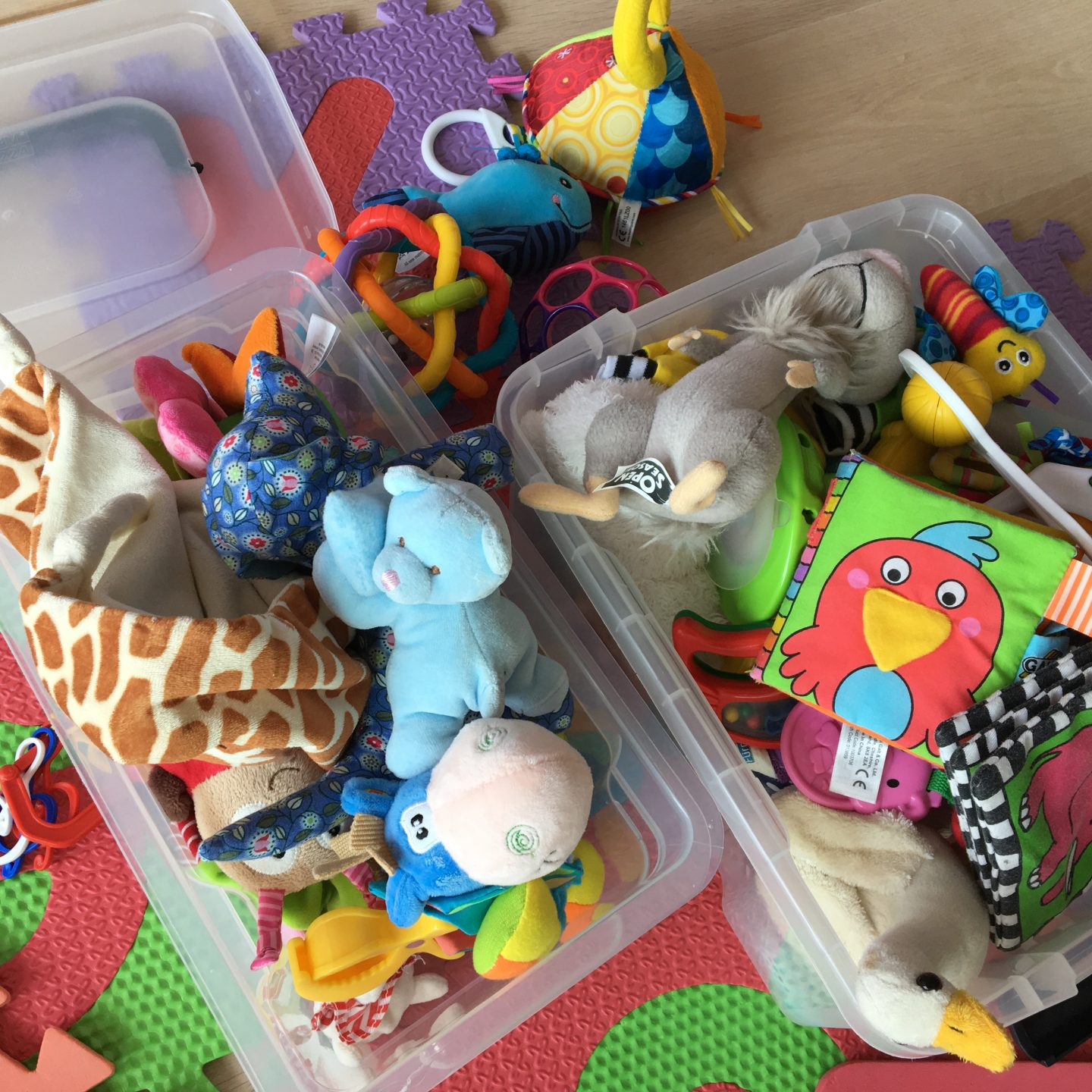 Keep busy – Favourite toys for babies